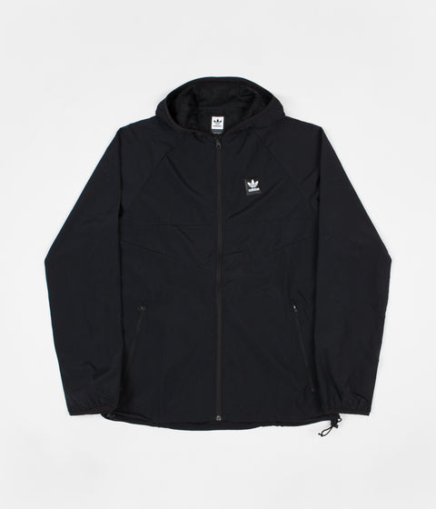 Adidas Dekum Packable Jacket - Black / Black