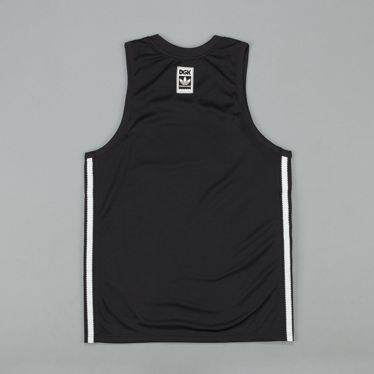 Adidas DGK Basketball Jersey - Black