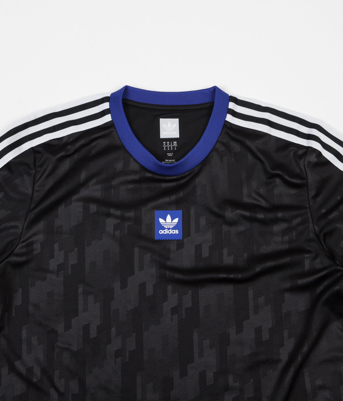 Adidas Dodson Jersey - Black / Active Blue / White