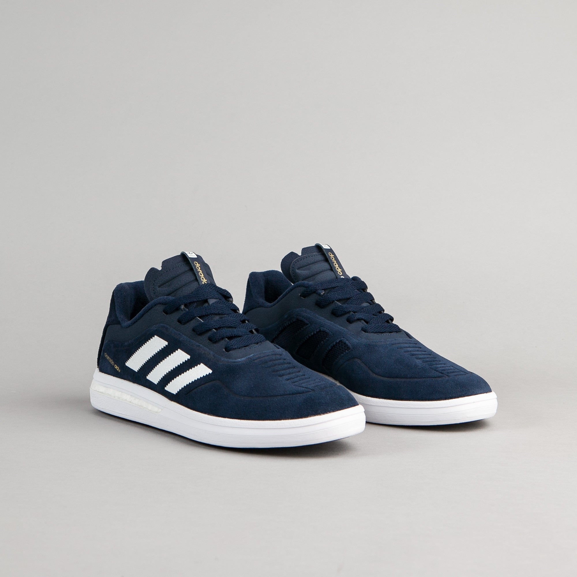 Adidas Dorado ADV Shoes - Collegiate Navy / White / Metallic Gold