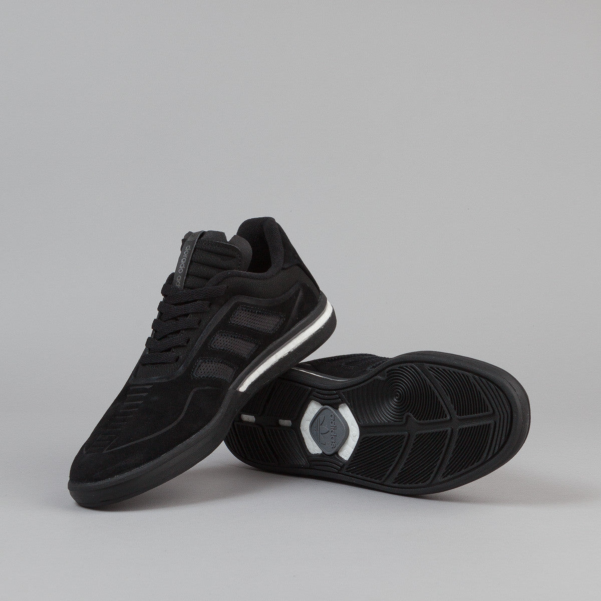 Adidas Dorado ADV Shoes - Core Black / Core Black / FTW White