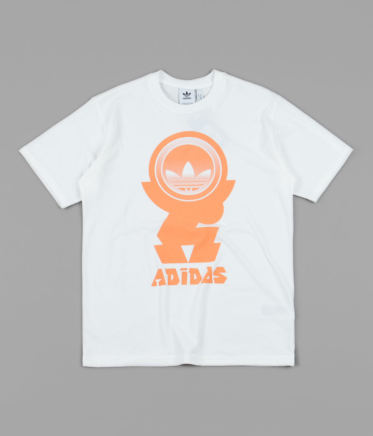 Adidas Forsut T-Shirt - Off White / Amber