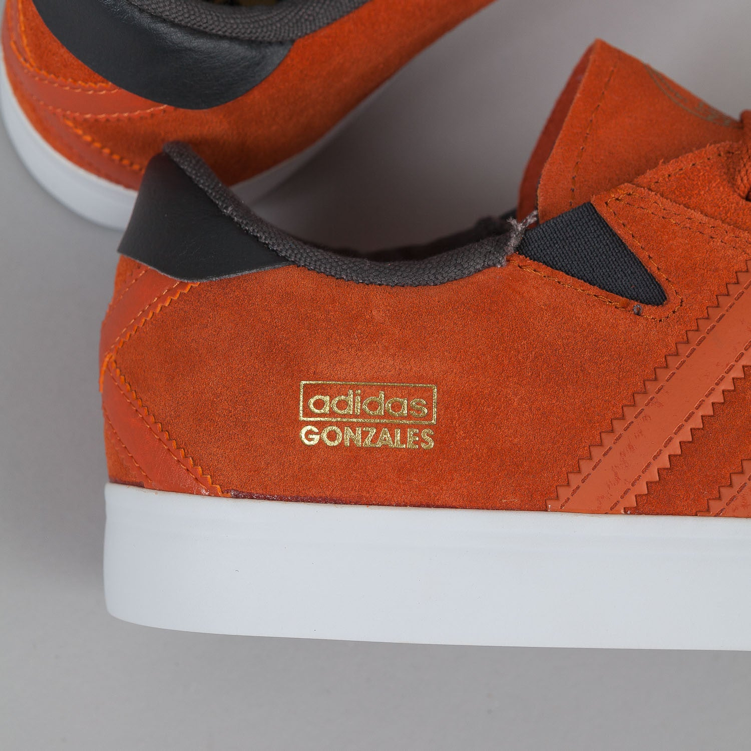 Adidas Gonz Pro Fox Red / Fox Orange / Solid Grey