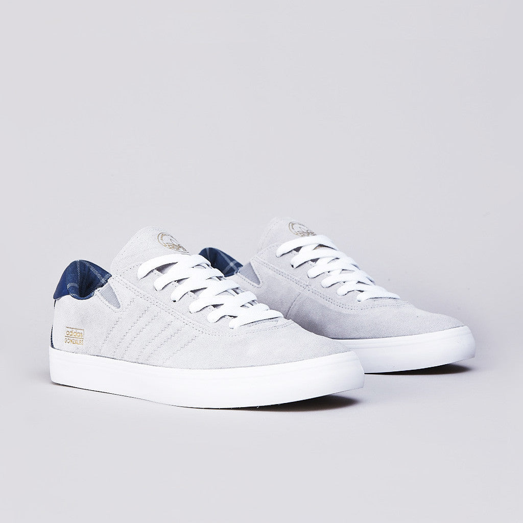 Adidas Gonz Pro Mid Grey / Uniform Blue / Running White