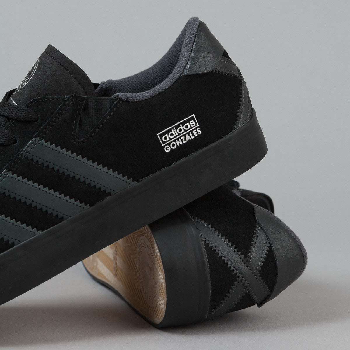 Adidas Gonz Pro Shoes - Core Black / Solid Grey / Core Black