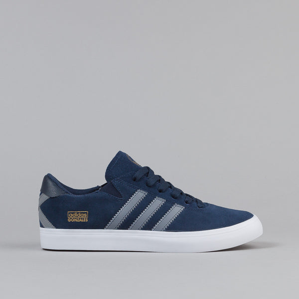 Adidas Gonz Pro Shoes - Core Navy / Grey / White