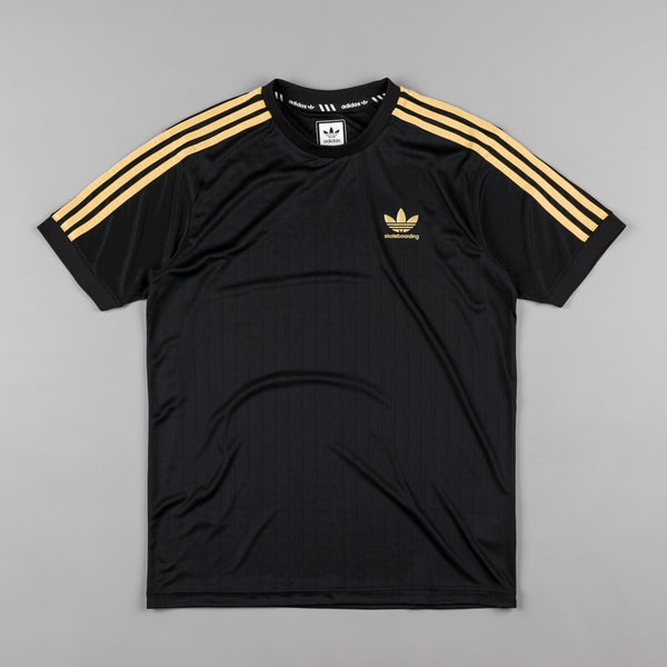 Adidas Clima Club Jersey - Black / Metallic Gold