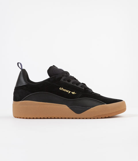 Adidas Liberty Cup 'Chewy'  Shoes - Core Black / Gold Metallic / Gum 2