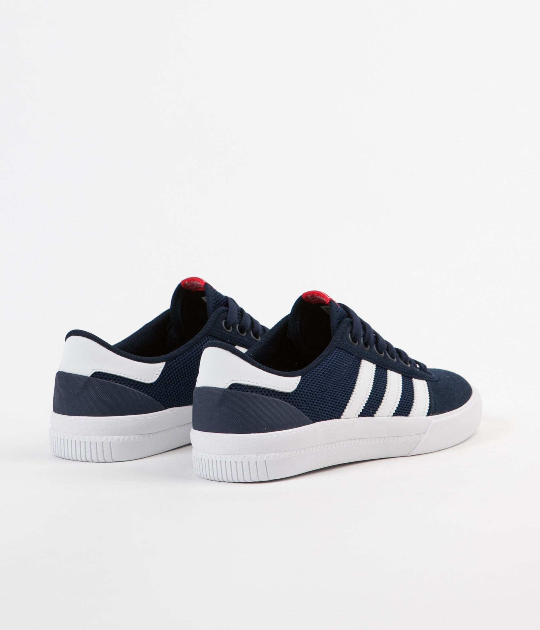 Adidas Lucas Premiere Adv Shoes - Collegiate Navy / White / Scarlet