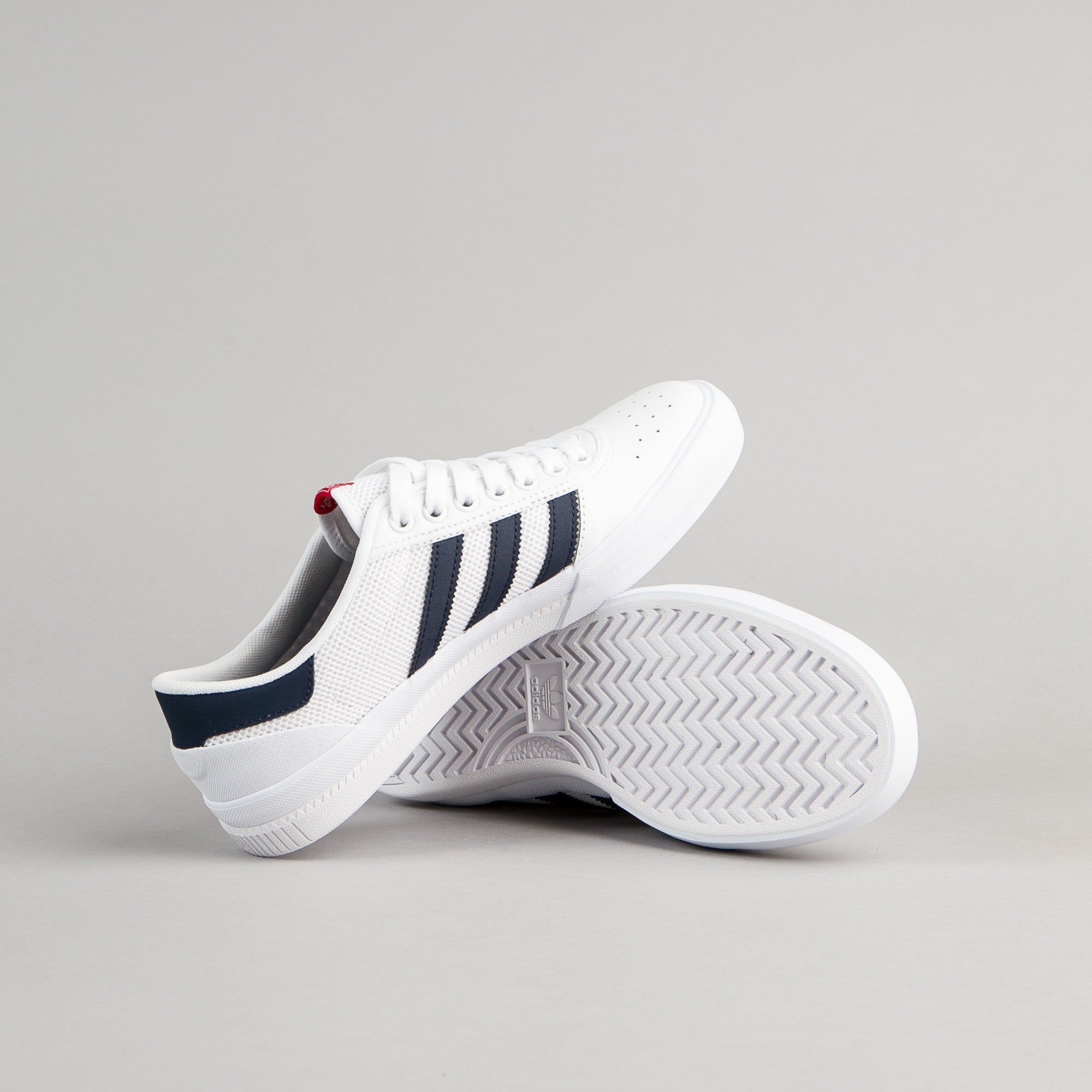 Adidas Lucas Premiere ADV Shoes - White / Collegiate Navy / Scarlet