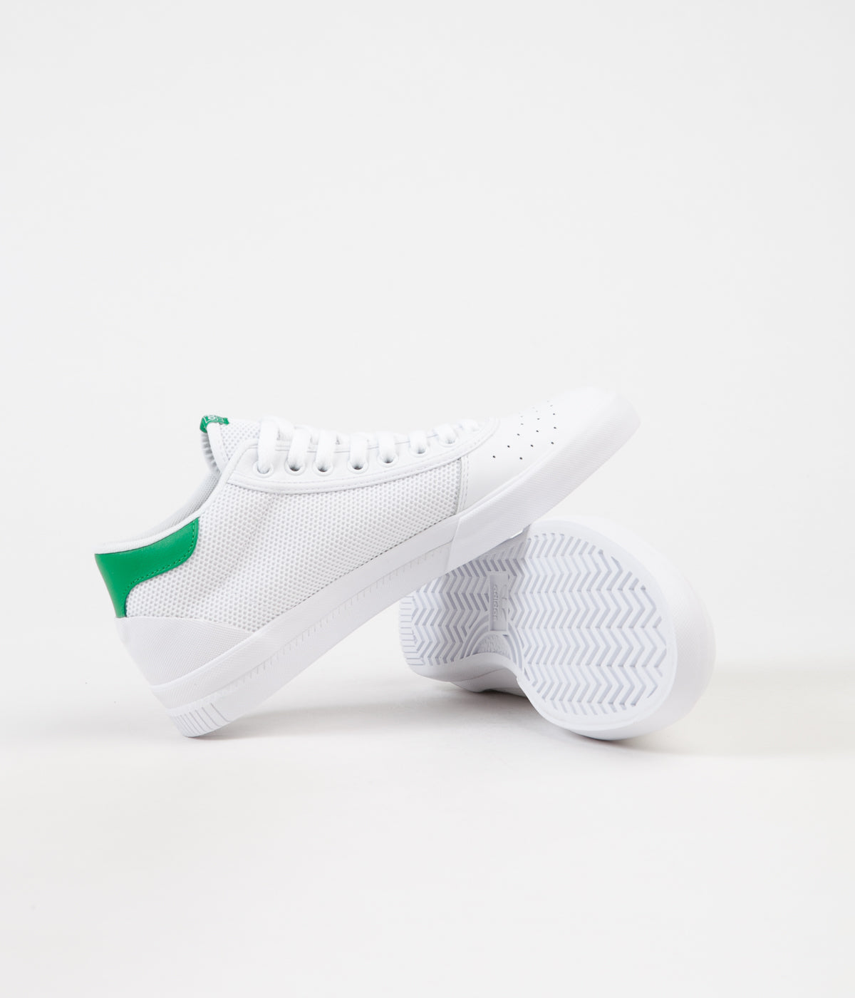 Adidas Lucas Premiere Mid Shoes - FTW White / FTW White / Green