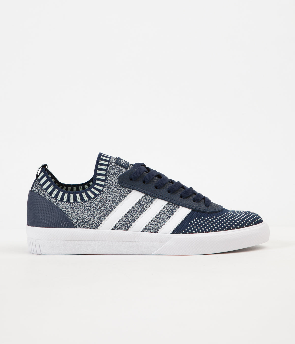Adidas Lucas Premiere Primeknit Shoes - Collegiate Navy / White / Aero Green