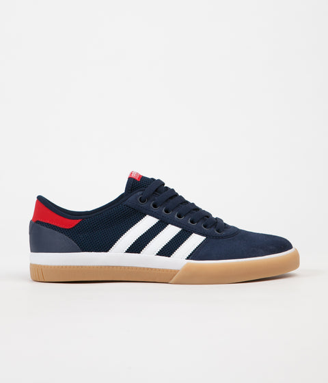 Adidas Lucas Premiere Shoes - Collegiate Navy / White / Scarlet
