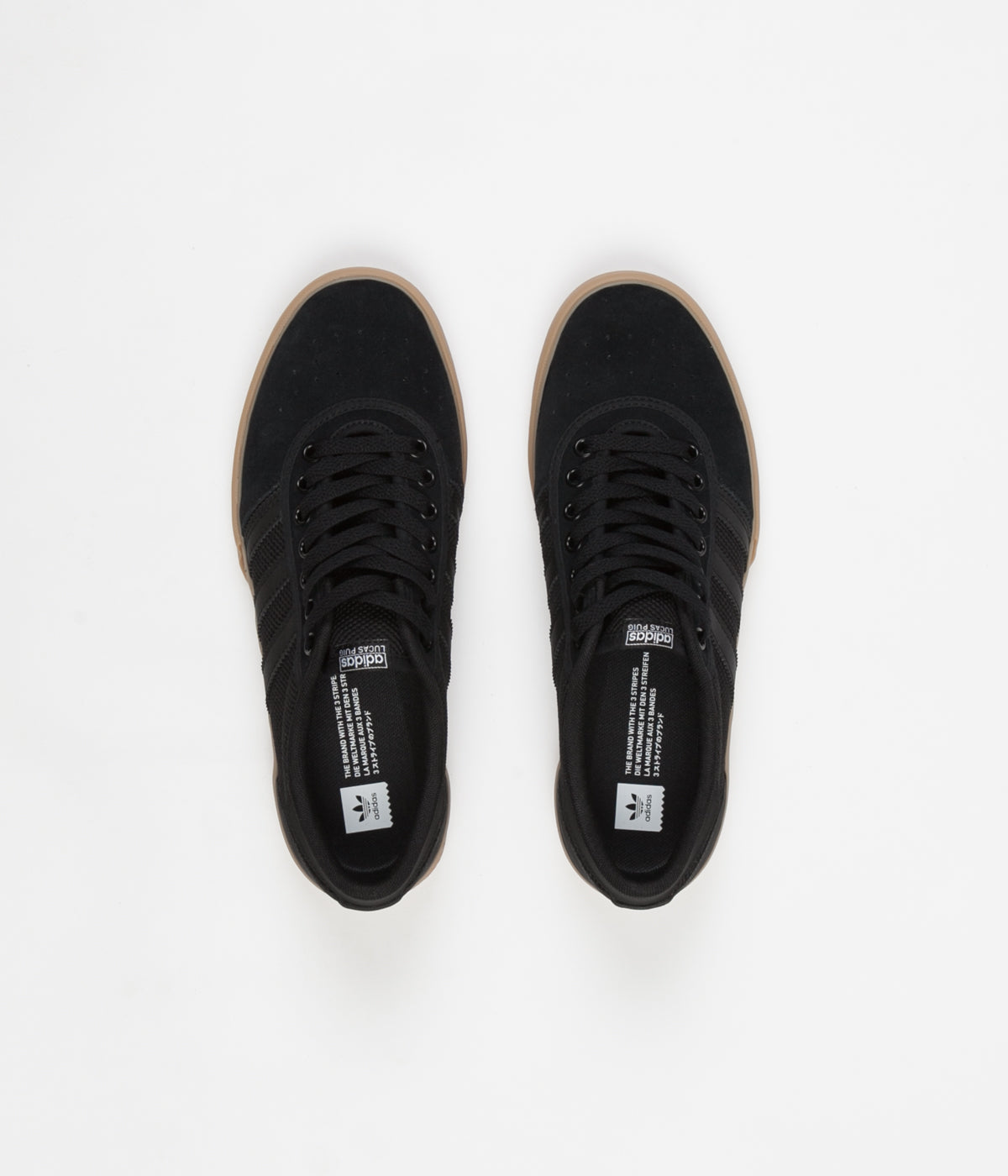 Adidas Lucas Premiere Shoes - Core Black / White / Gum4