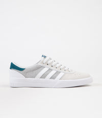 Adidas Lucas Premiere Shoes - FTW White / Solid Grey / Real Teal