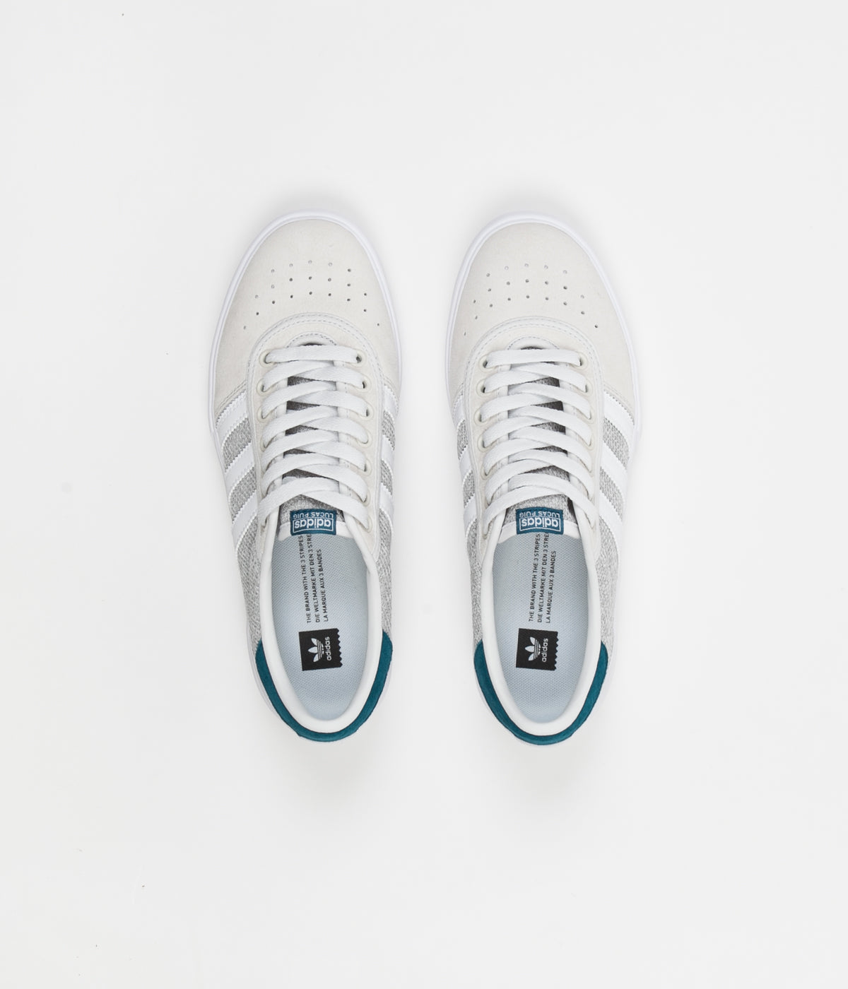Adidas Lucas Premiere Shoes - FTW White   Solid Grey   Real Teal ... 8a6b8f1a0