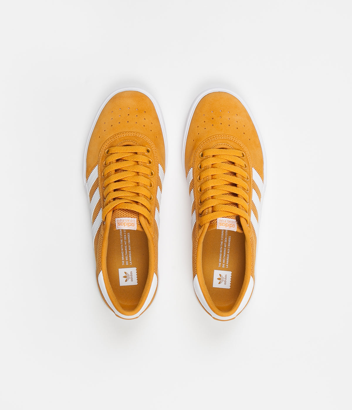 Adidas Lucas Premiere Shoes - Tactile Yellow / White / White