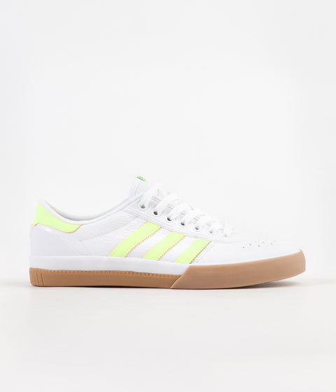 abc64201186b0c Adidas Lucas Premiere Shoes - White   Hi-Res Yellow   Gum