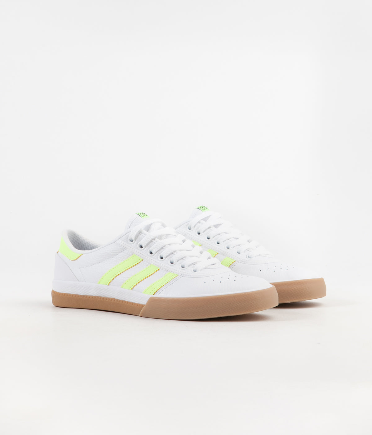 Adidas Lucas Premiere Shoes - White / Hi-Res Yellow / Gum