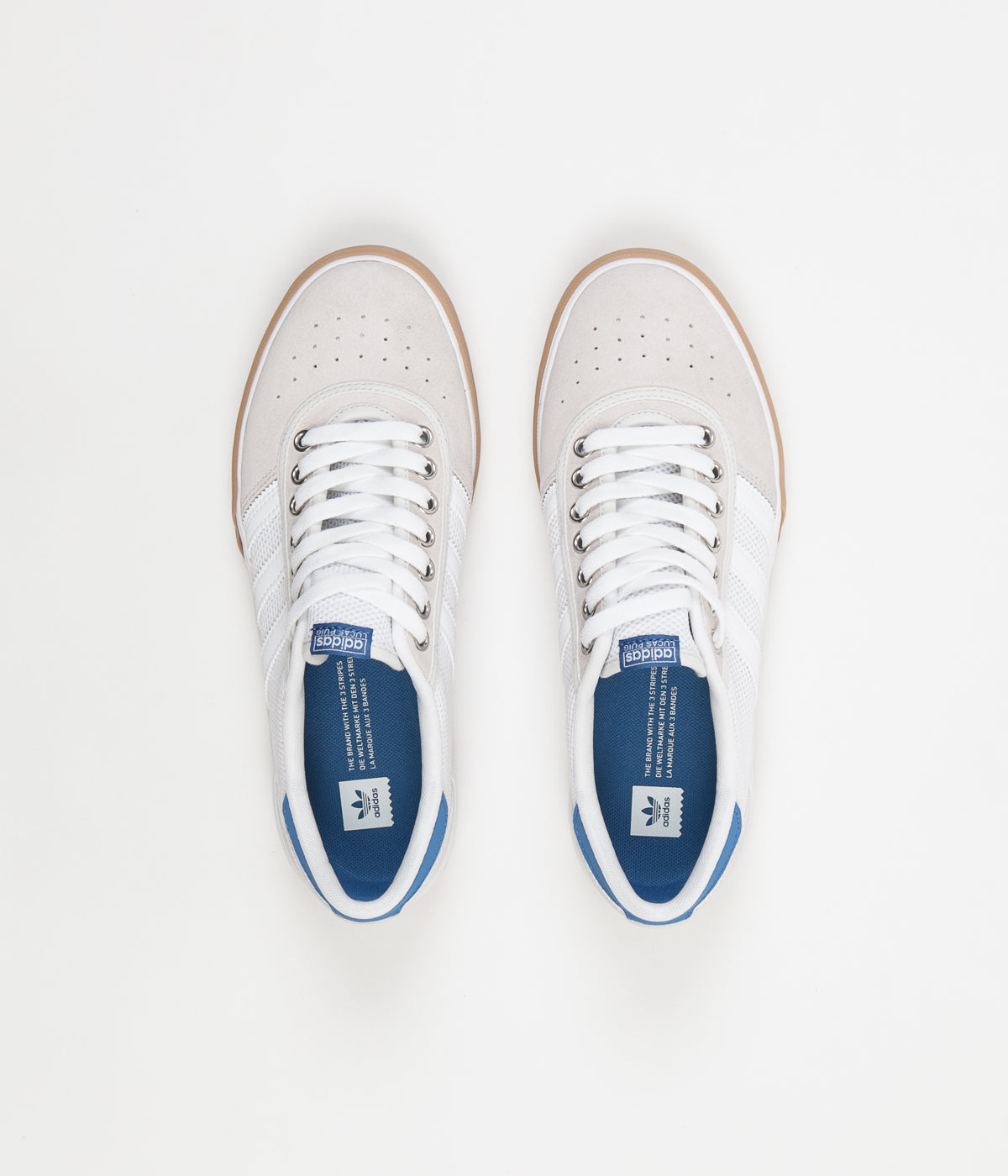 Adidas Lucas Premiere Shoes - White / Trace Royal / Gum