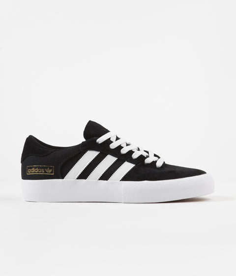 Adidas Matchbreak Super Shoes - Core Black / White / Gold Metallic