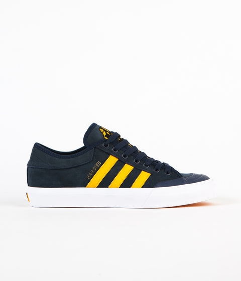 Adidas x Hardies Matchcourt Adv Shoes - Collegiate Navy / Customized / Footwear White
