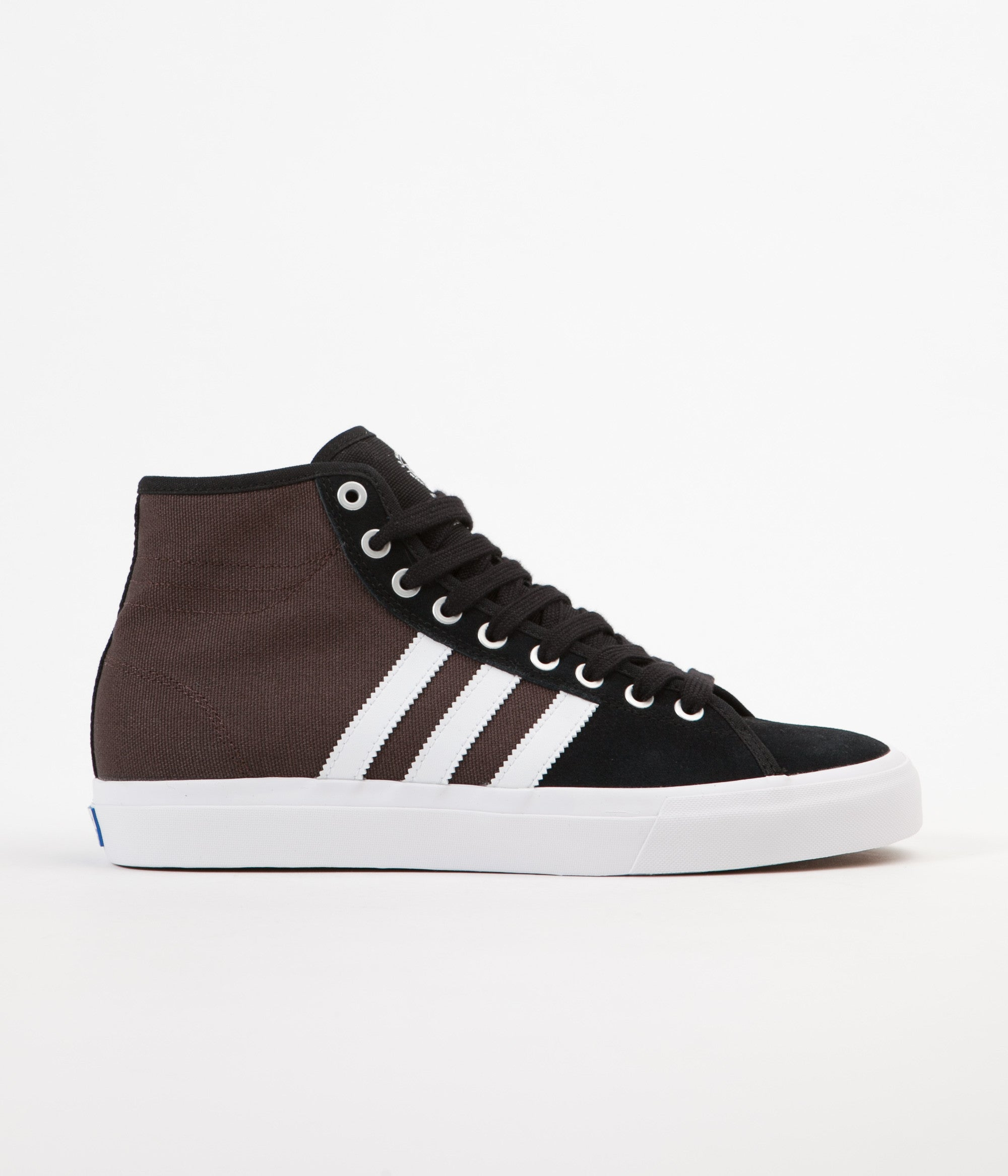 best sneakers cfe18 5110f Adidas Matchcourt High RX Shoes - Core Black   White   Brown
