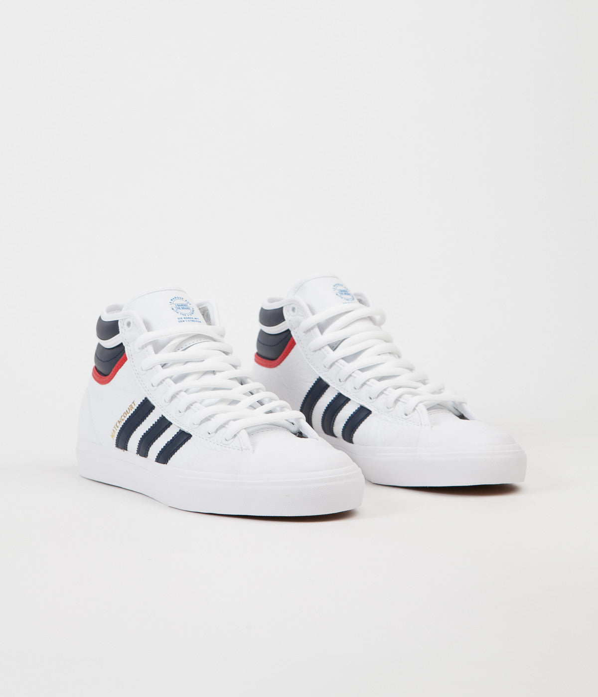 White MATCHCOURT HIGH RX2 sneakers adidas