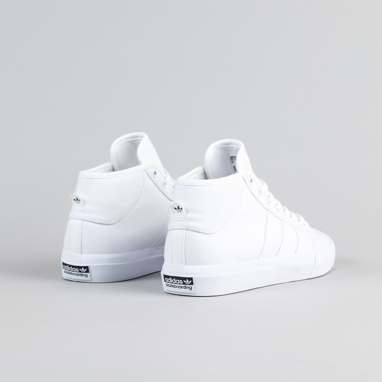 Adidas Matchcourt Mid Shoes - White / White