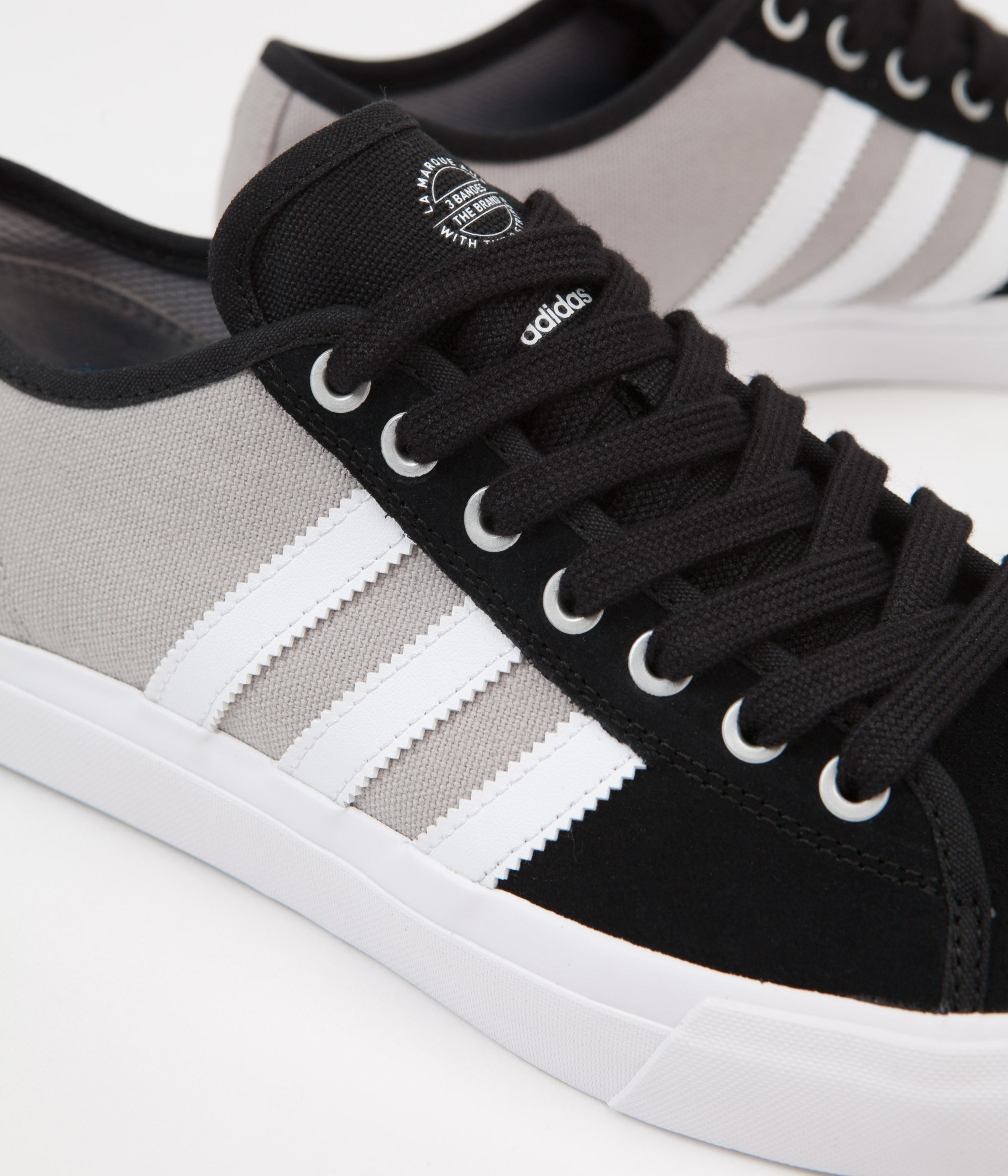 ... Adidas Matchcourt RX Shoes - Core Black   White   Customized ... a2d598ddc