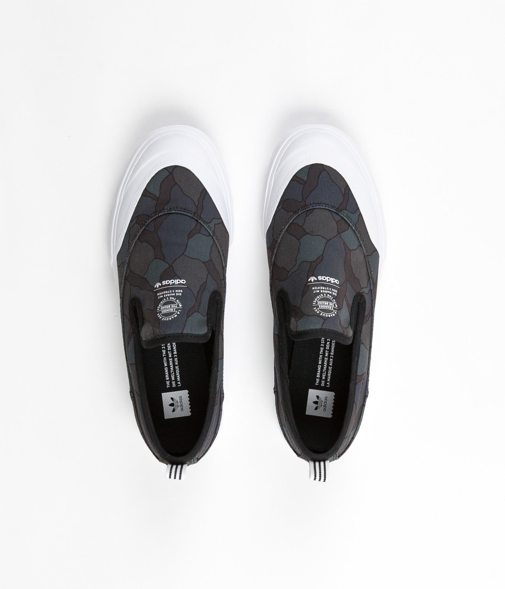 Adidas Matchcourt Slip On Shoes - Core Black