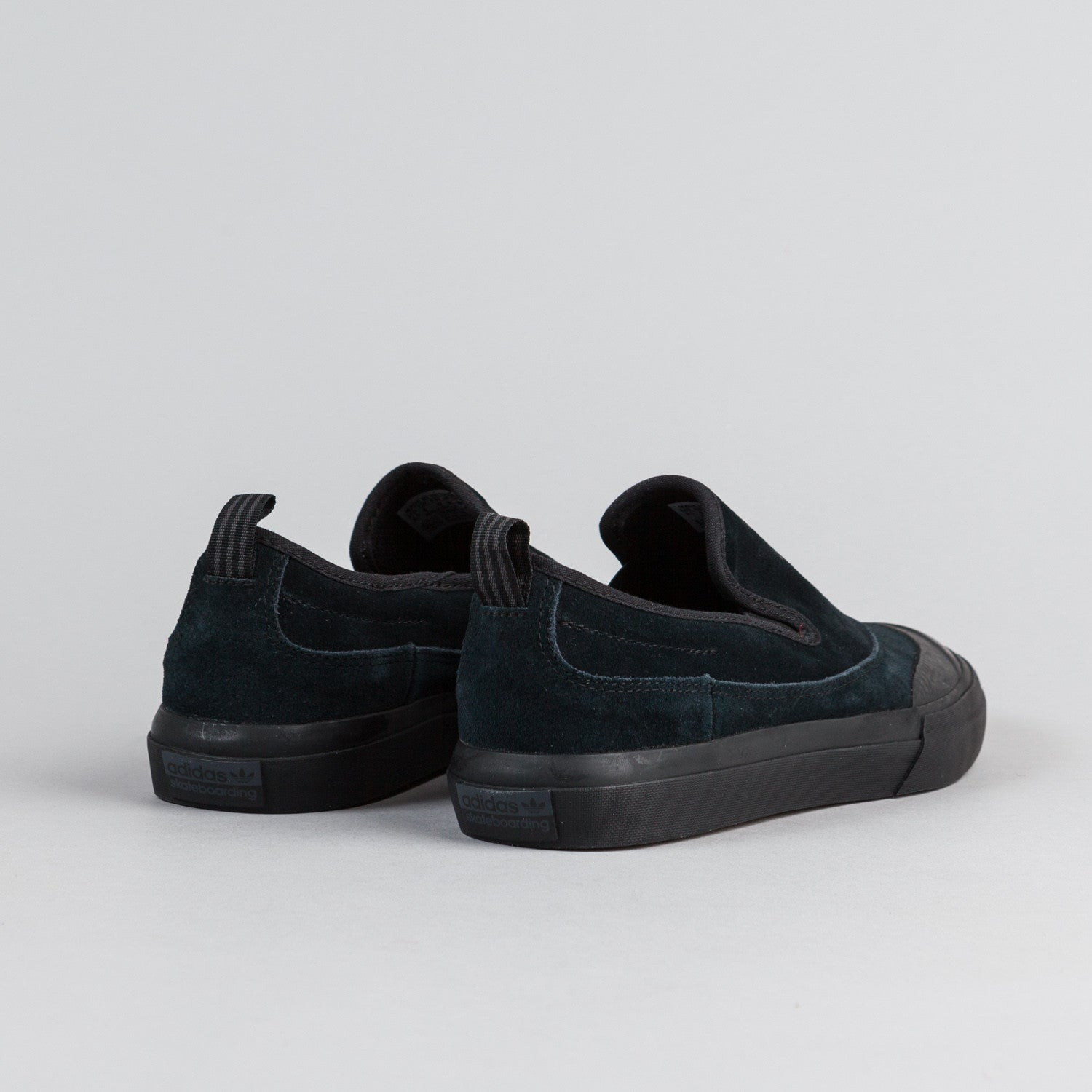 Adidas Matchcourt Slip On Shoes - Core Black / Core Black / Solid Grey