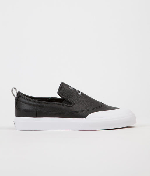 Adidas Matchcourt Slip On Shoes - Core Black / Core Black / White