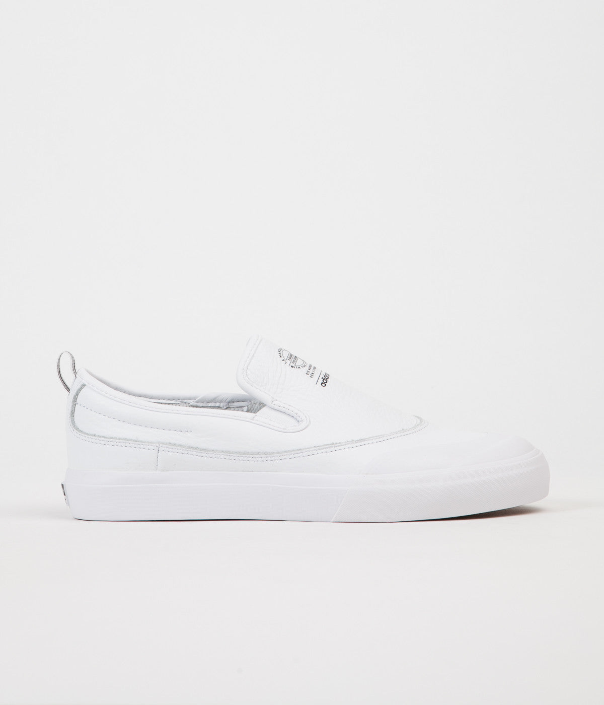 Adidas Matchcourt Slip On Shoes - White / White / White