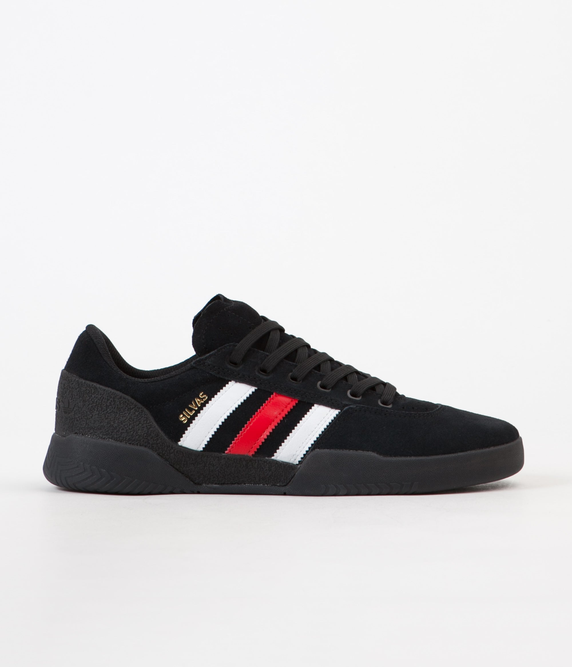 Adidas Miles Silvas City Cup Shoes - Core Black / Scarlet / FTW White