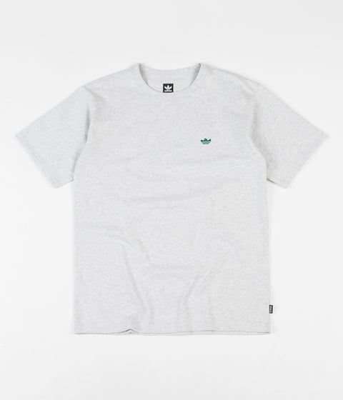 Adidas Mini Shmoo T-Shirt - Light Grey Heather / Bold Green
