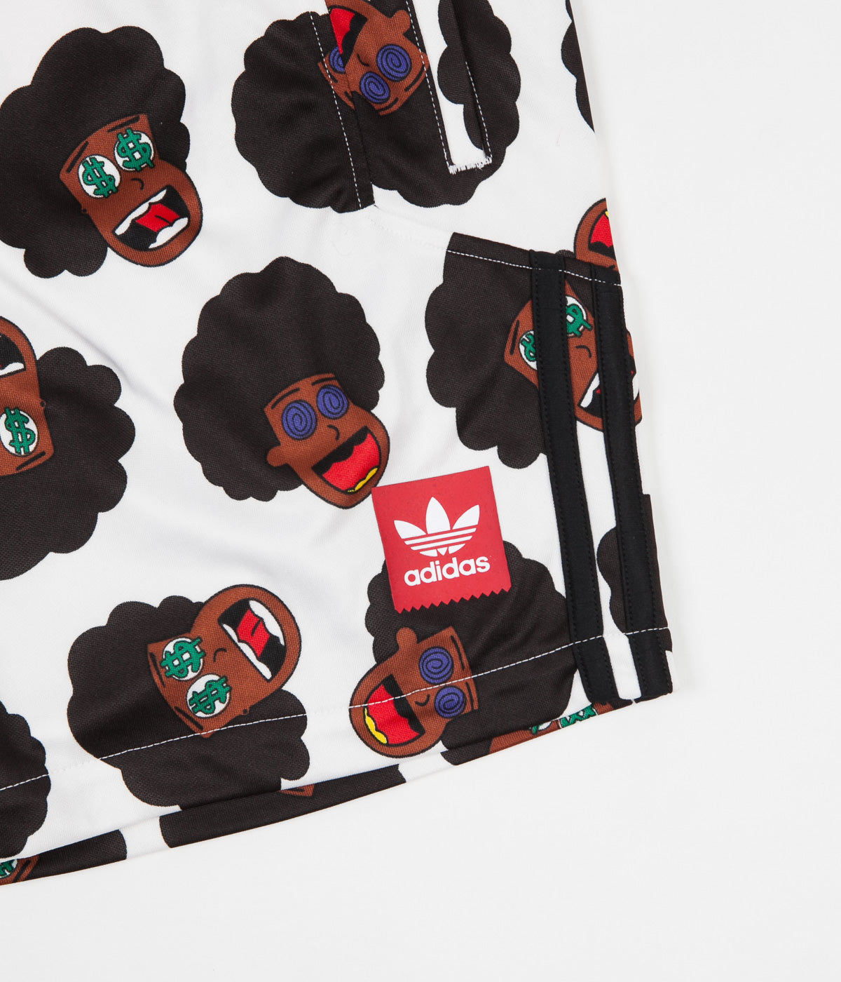 Adidas Na-Kel Shorts - Multicolour / Scarlet / Black