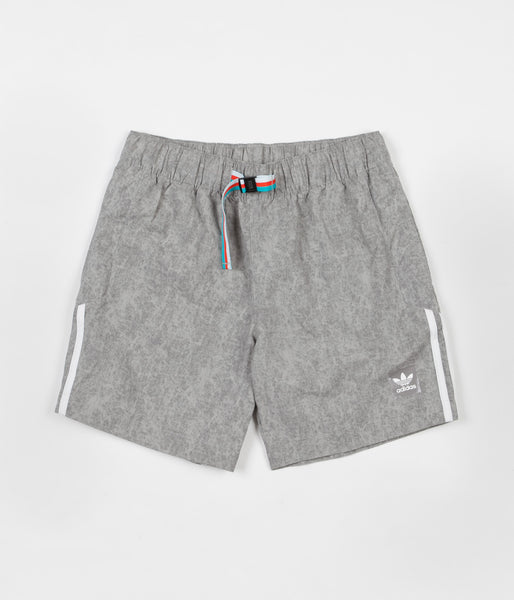 Adidas Nautical Shorts - Solid Grey / White