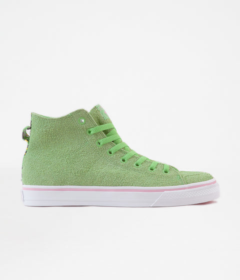 Adidas Nizza Hi RFS 'Na-Kel' Shoes - Green / White / Pink
