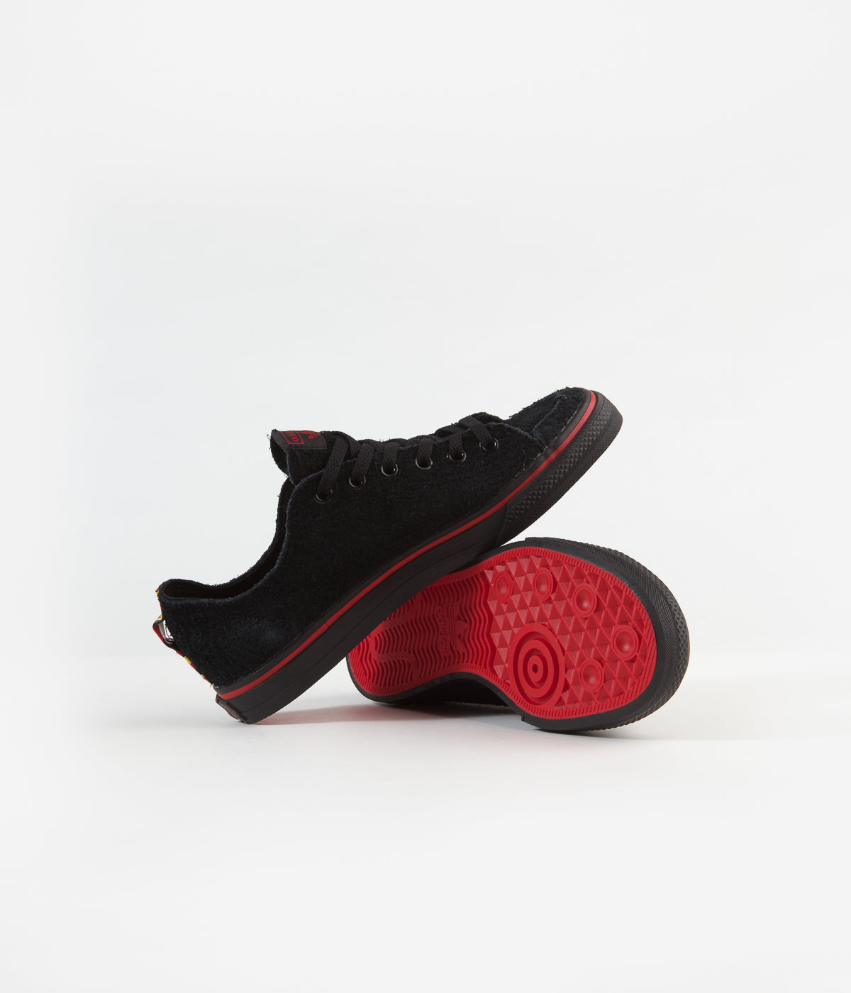 Adidas Nizza RF 'Na-Kel' Shoes - Core Black / Scarlet / White