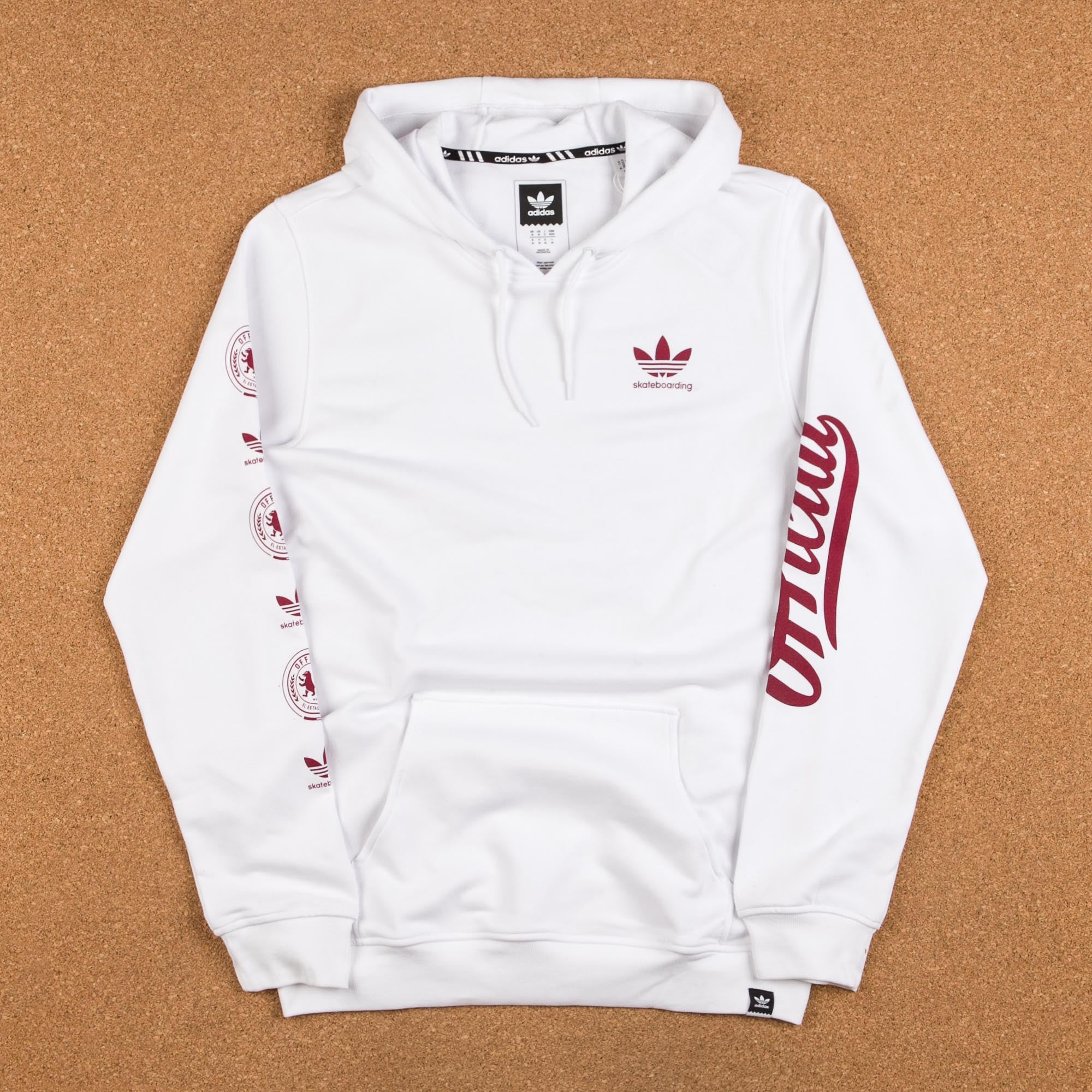 Adidas x Official Hooded Sweatshirt - White