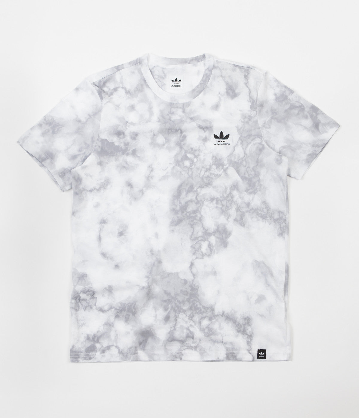 Adidas Quartz 2.0 T-Shirt - White / Clear Grey