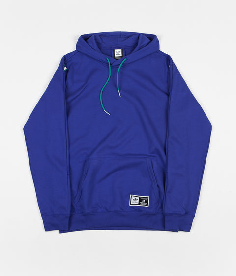 Adidas Quarzo Hoodie - Active Blue / White / Active Green