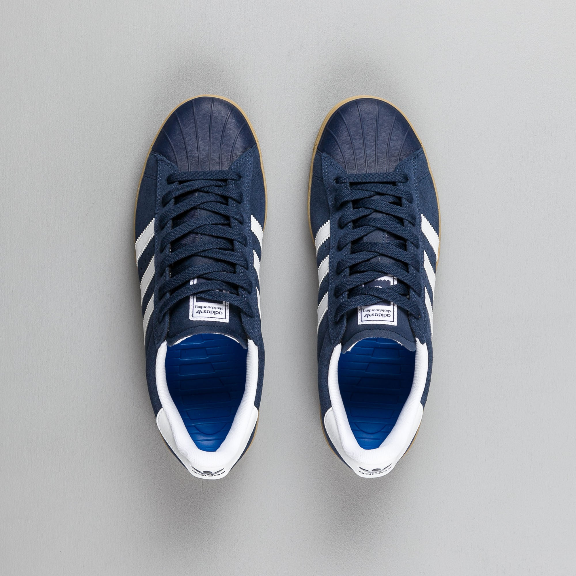 Adidas Superstar Vulc ADV Shoes - Collegiate Navy / White / Gum