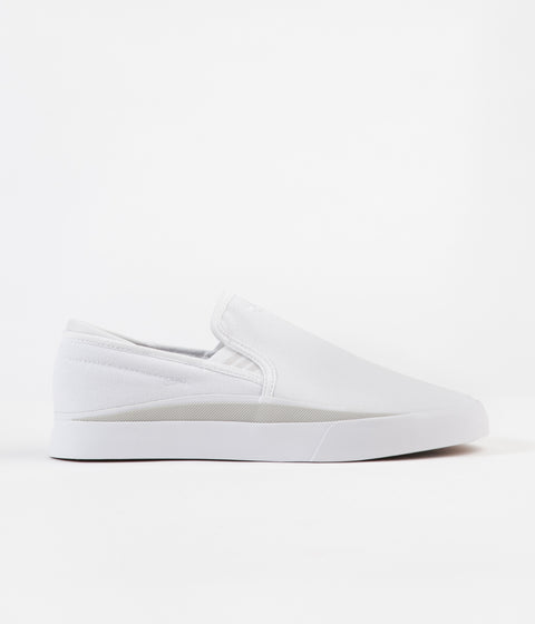 Adidas Sabalo Slip On Shoes - White / Grey One / Core Black
