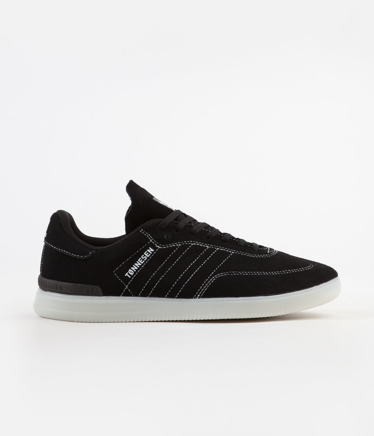 Adidas Samba ADV 'Gustav Tønnesen' Shoes - Core Black / White / Crystal White