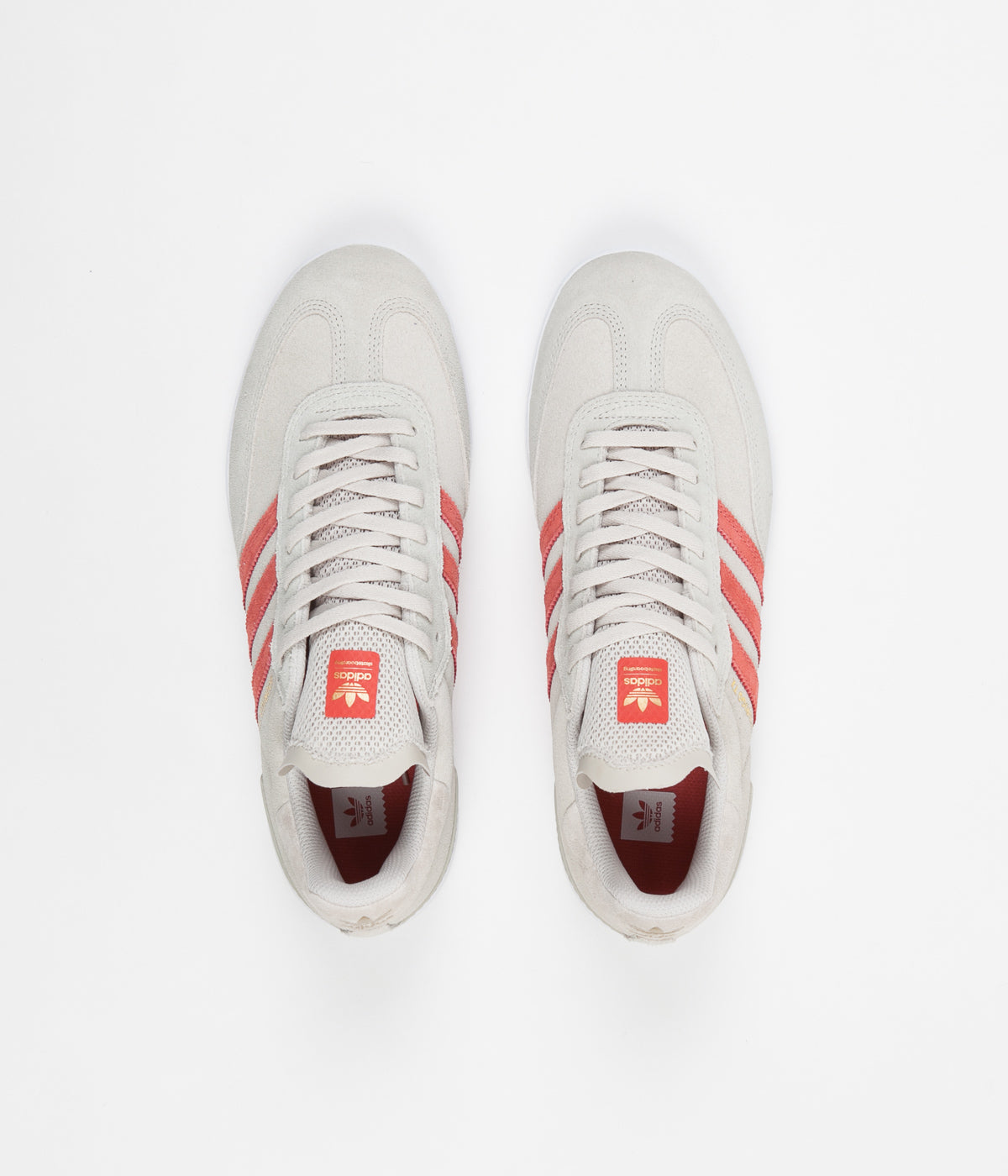 Adidas Samba Adv Shoes - Clear Brown / Trace Scarlet / White