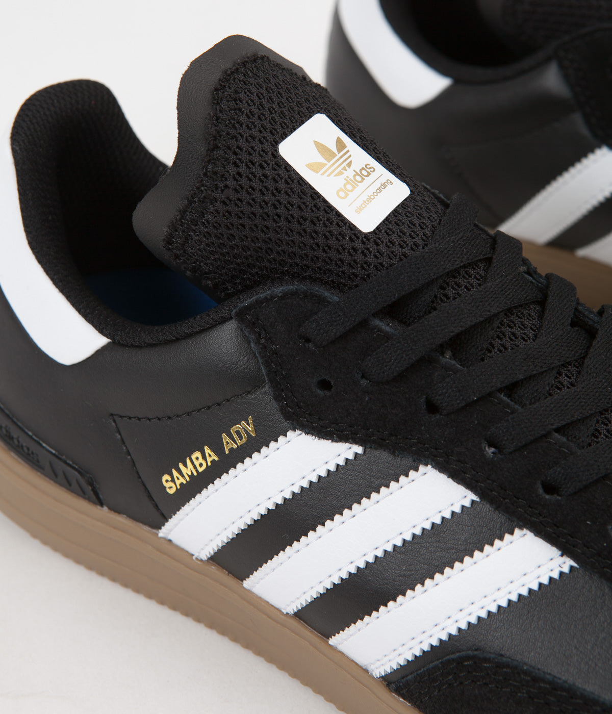 Adidas Samba Adv Shoes - Core Black / FTW White / Gum4