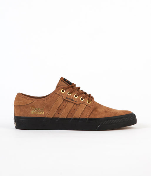 Adidas Seeley ADV OG Shoes - Timber / Timber / Core Black