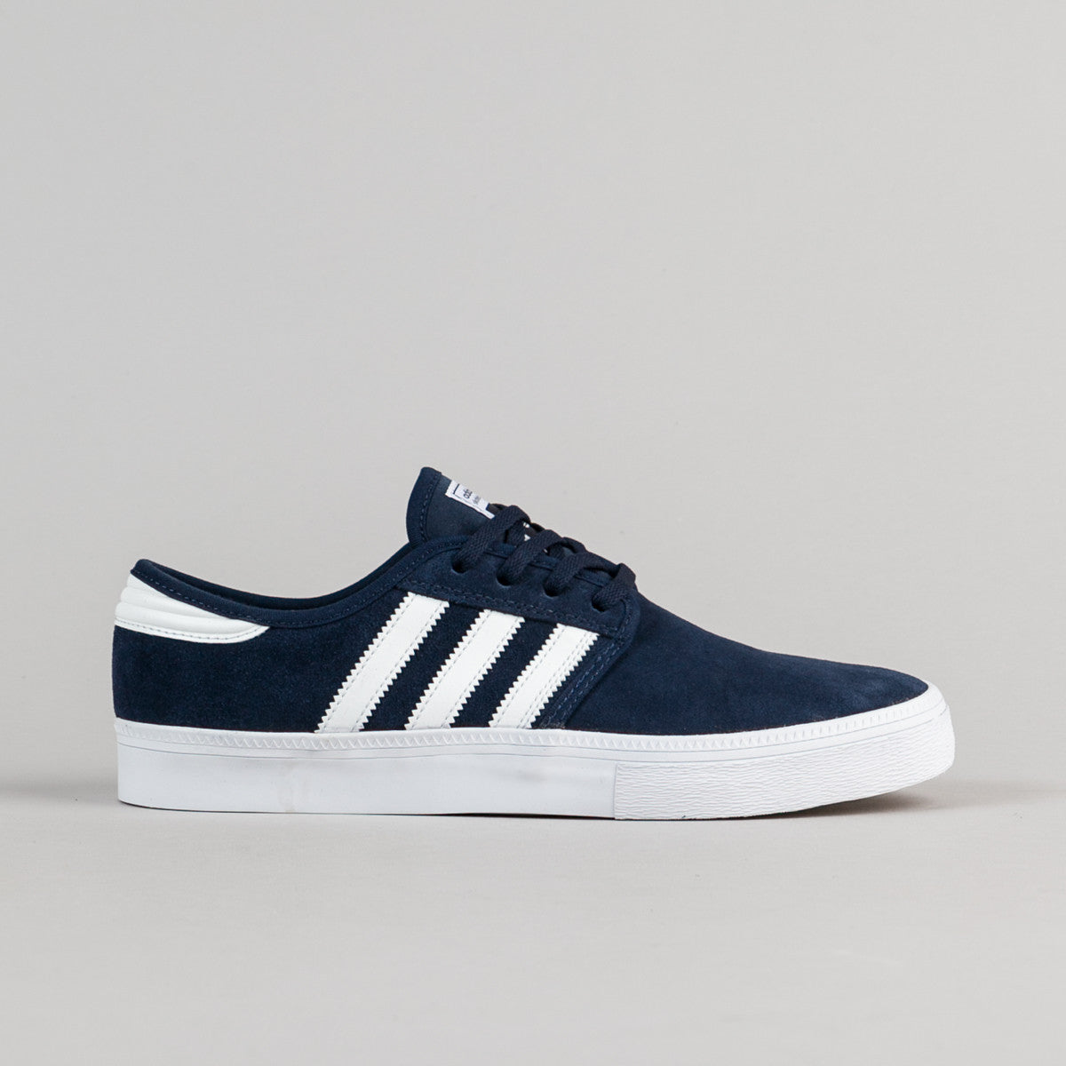 Adidas Seeley ADV Shoes - Collegiate Navy / Crystal White / White